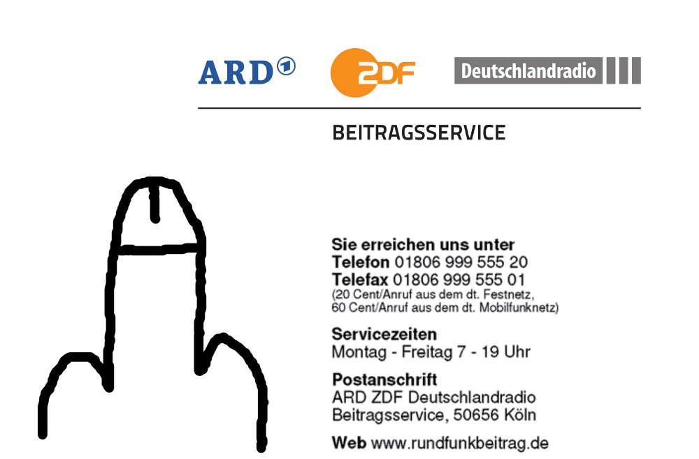 Rundfunkbeitrag Strafanzeige gegen Sachbearbeiterin des Finanzamts Berlin Neukölln Nötigung, Erpressung und Hochverrat